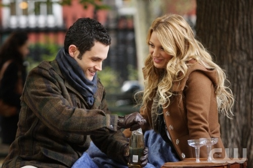 gossip girl serena van der woodsen dan humphrey park photo