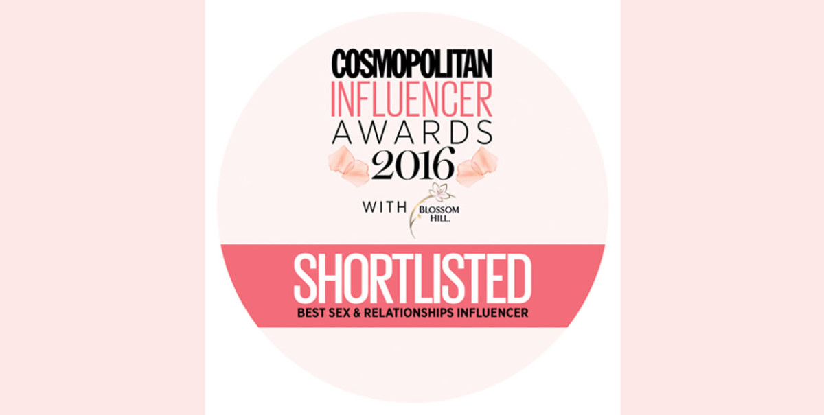 Shortlisted Best Sex & Relationships Inlfuencer